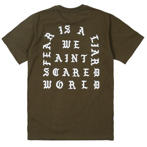 Fear T-shirt Khaki