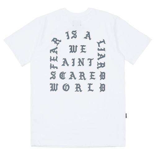 Fear T-shirt White