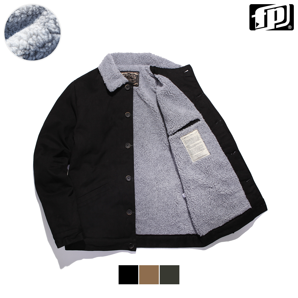 [페플] 카치온 양털 트러커 자켓 3종 KHOT1057