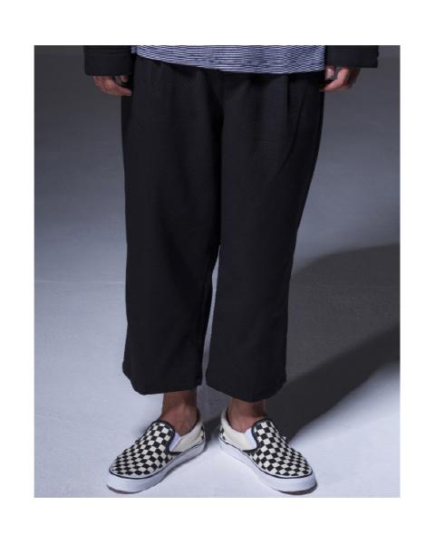 Twill Set Pants [Black]