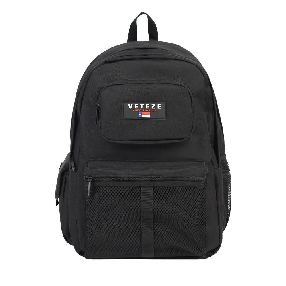 [크루비단독][VETEZE] Retro Sport Bag - BK