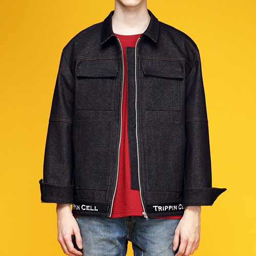 New Tripping denim Jacket (black)