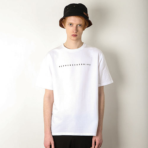 PEPPER PRINT T-SHIRT[WHITE]