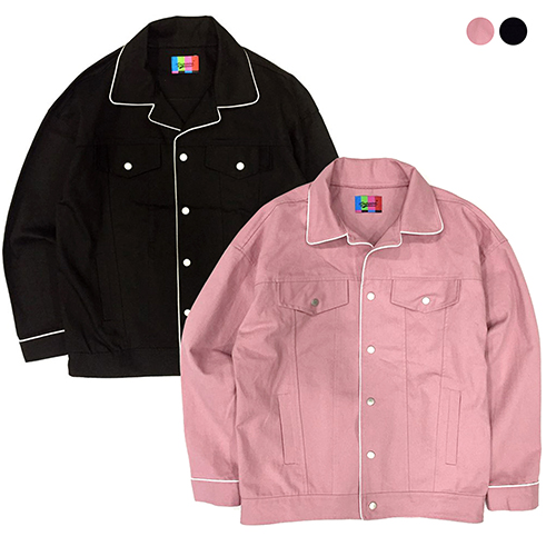 Daily Piping Jacket(2color)(unisex)
