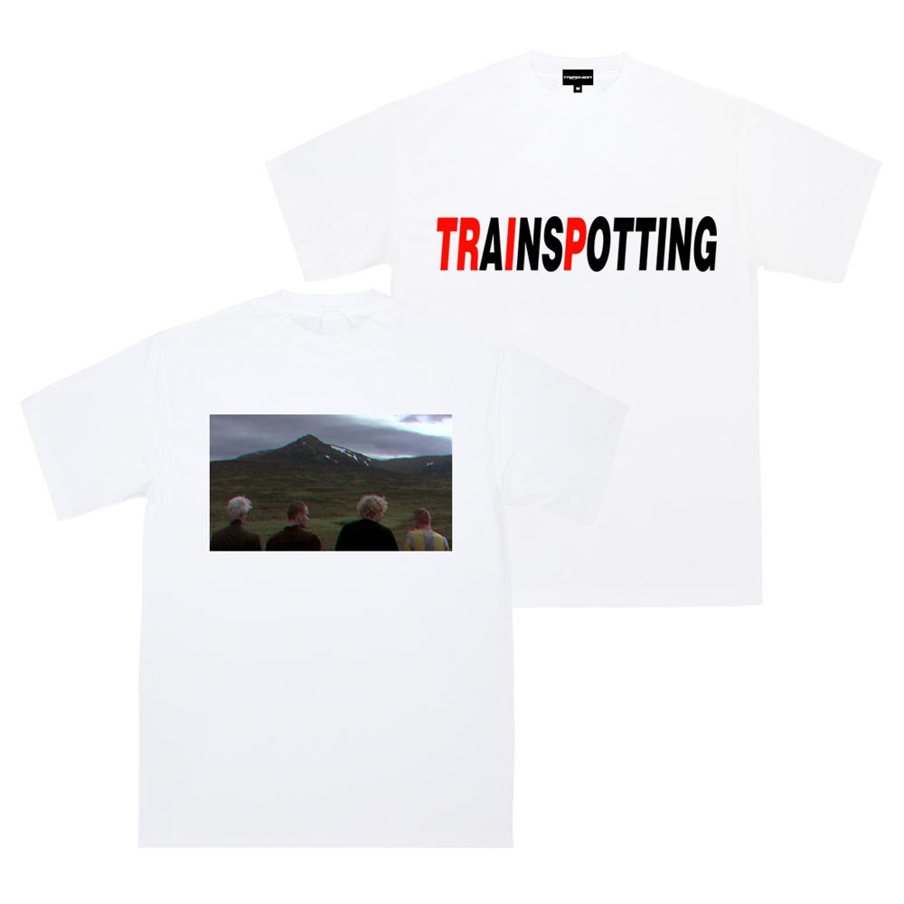 [단독할인]트레인스포팅 티셔츠 - 흰색