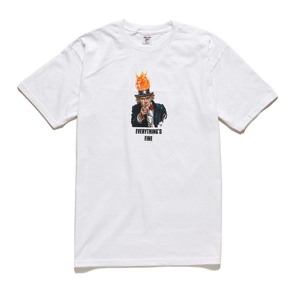 [국내칼배송] 아카풀코 골드 Everthings Fine 티셔츠 화이트