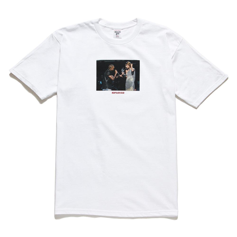 [국내칼배송] 아카풀코 골드 파티 크래셔 티셔츠 화이트