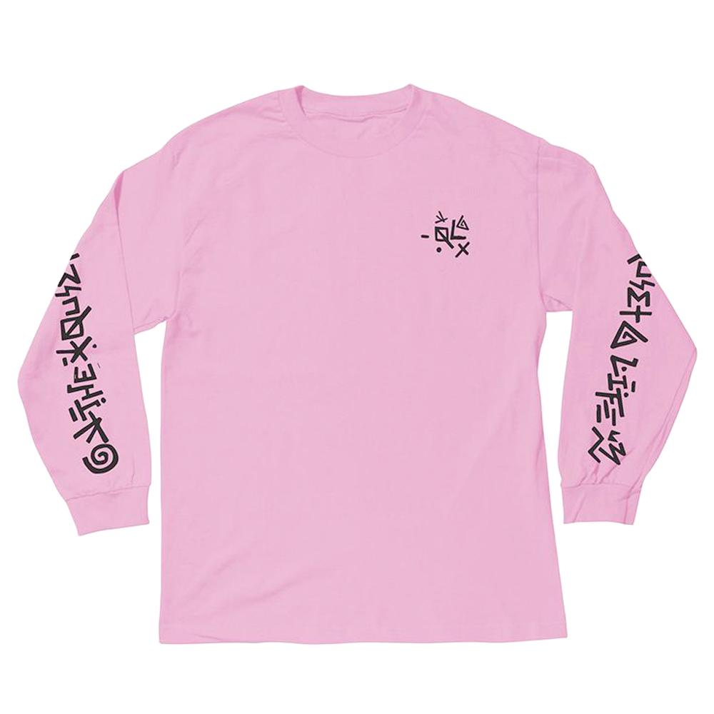 더 콰이엇 라이프 플러스 롱 슬리브 티셔츠 핑크