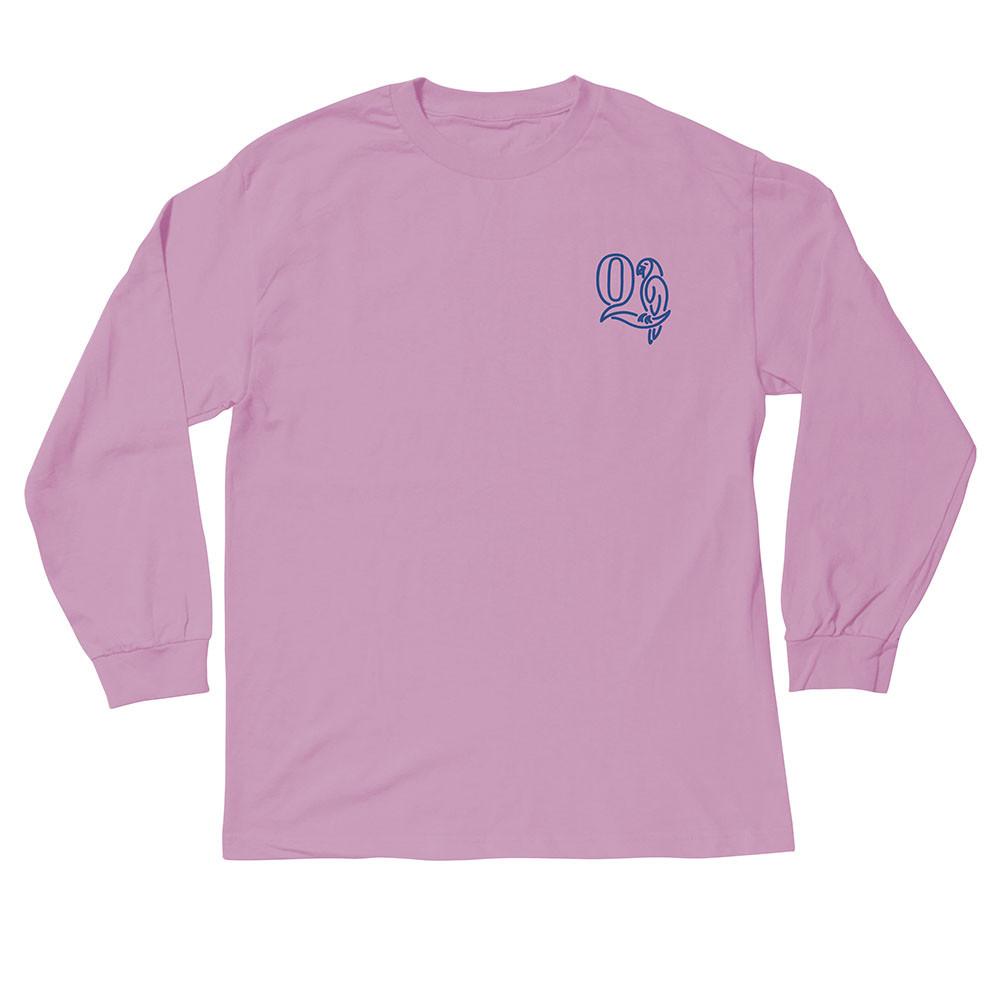 더 콰이엇 라이프 패럿 롱 슬리브 티셔츠 핑크
