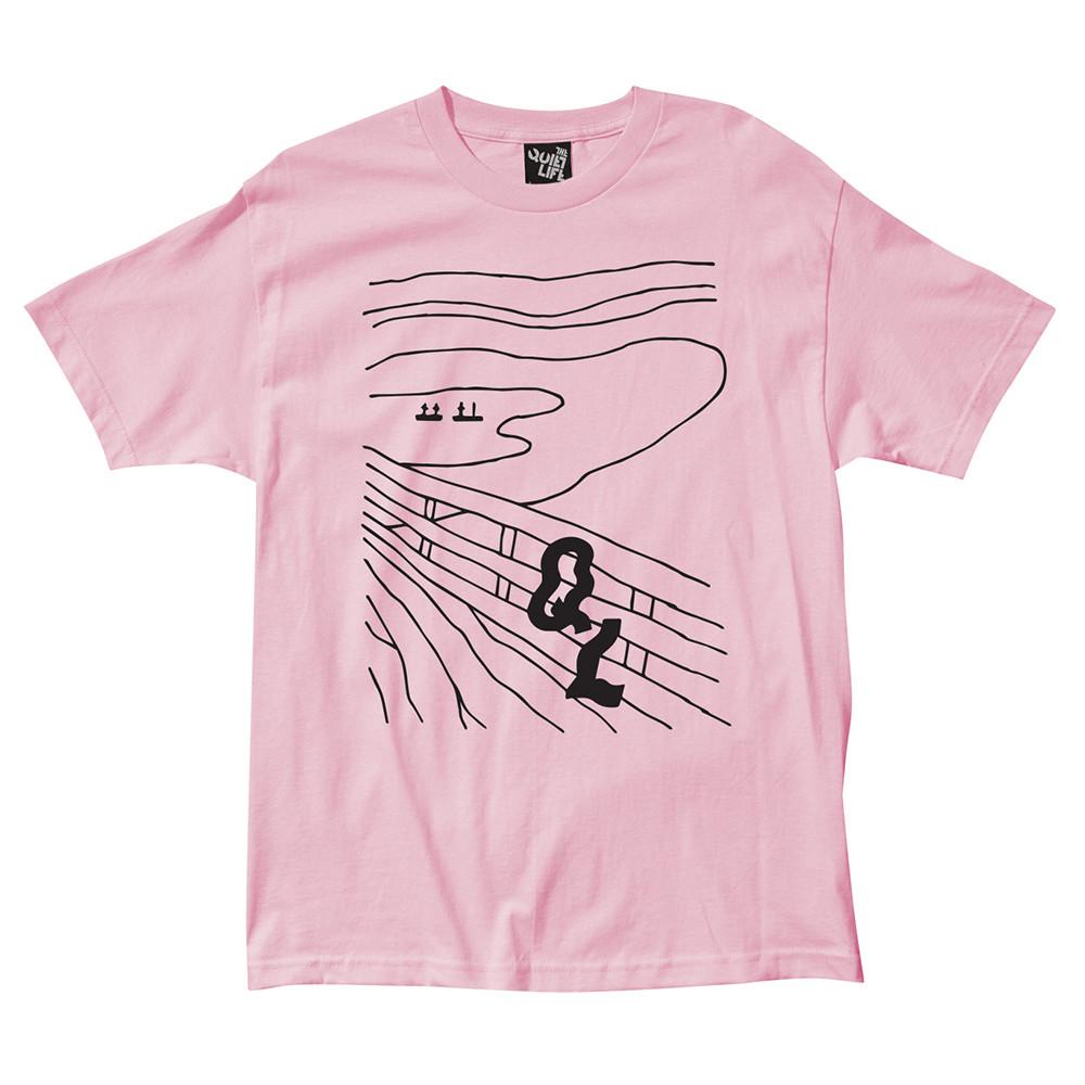 더 콰이엇 라이프 스크림 티셔츠 핑크