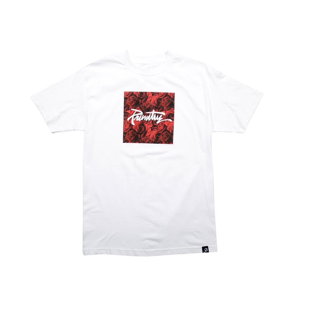 프리미티브 쓰레쉬드 로사 티셔츠 화이트