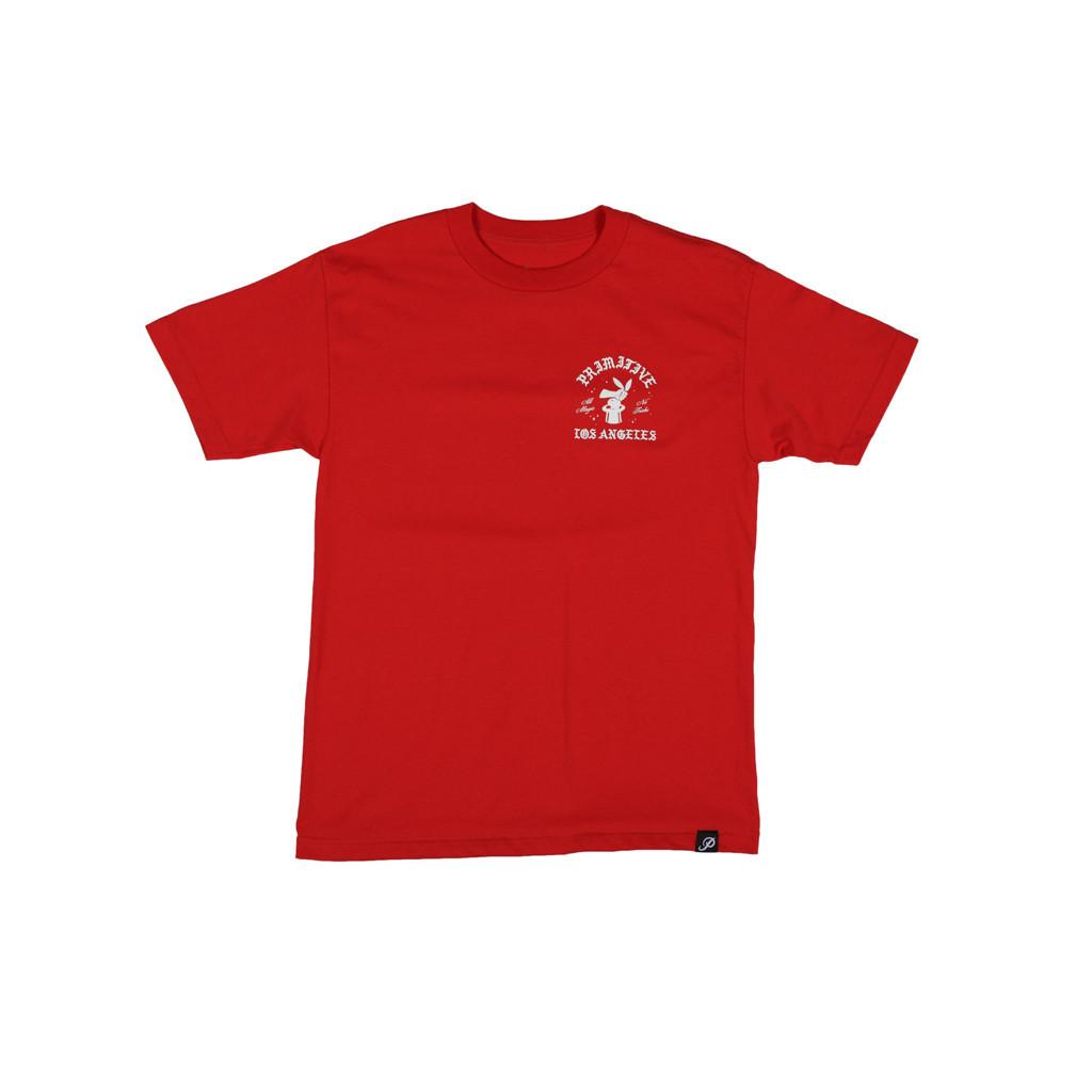 프리미티브 후디니 티셔츠 레드