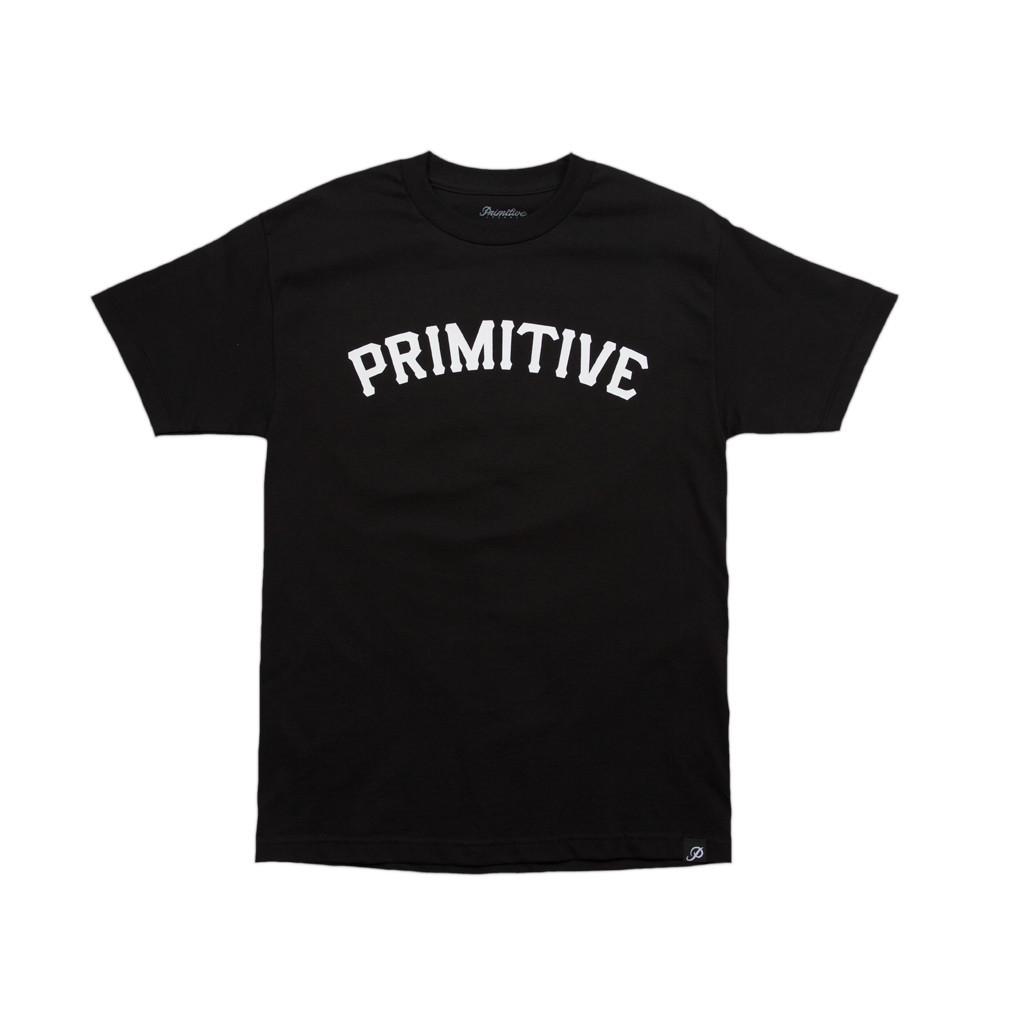 프리미티브 슬랩 08 티셔츠 블랙