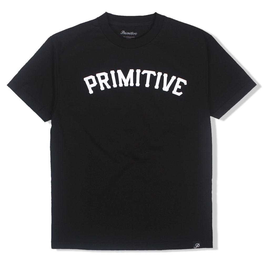 [국내칼배송] 프리미티브 슬랩 타입 티셔츠 블랙