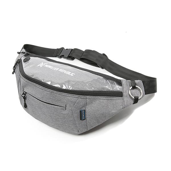 몬스터 리퍼블릭 PROGRESS WAIST BAG ver2 LIGHT GRAY
