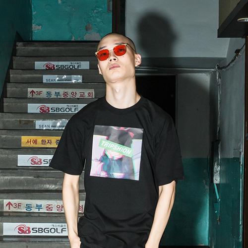 [단독할인]트립션 근심가득한 소녀 티셔츠 - 5가지 색상