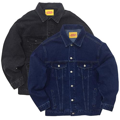 Oversized Denim Jacket (2color)(unisex)