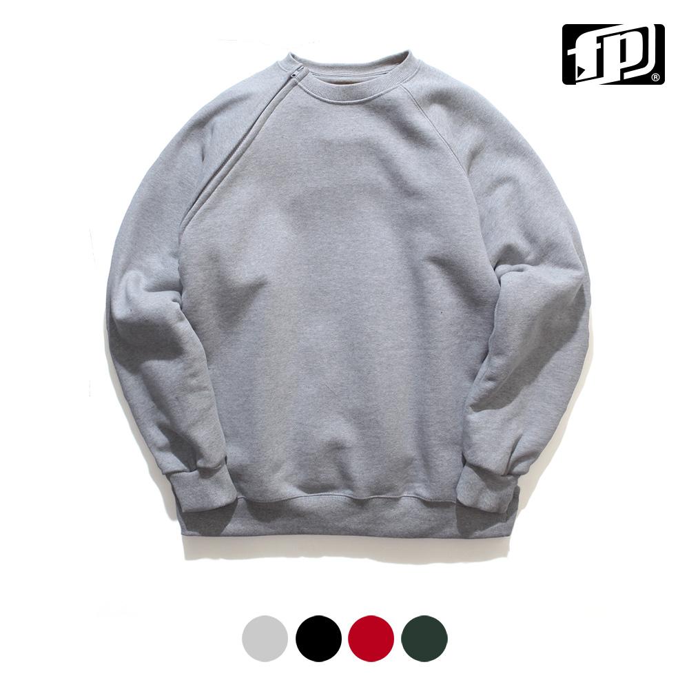 [페플] 넥슬라이드 맨투맨 회색 JHMT1088