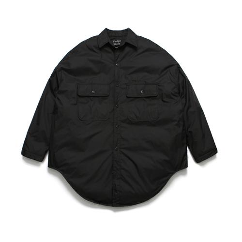 (Unisex) Gleam Shirt Padding_Black