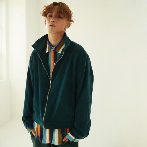 Suede Jersey Zip-up Jacket (4color)(unisex)