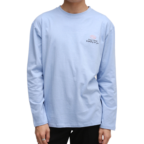 Longsleeve T-Shirts[Skyblue]