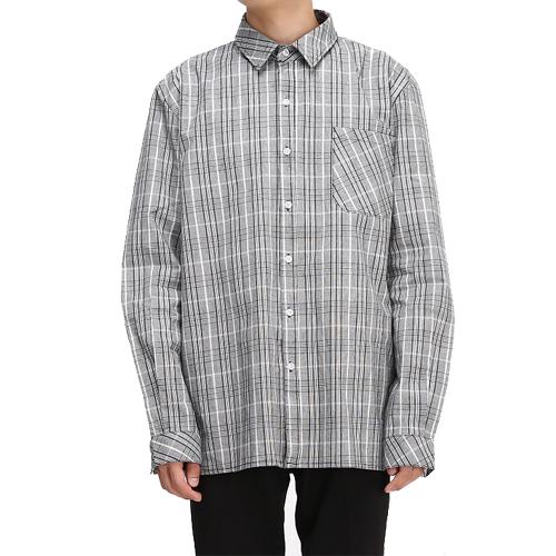 Glen Check Shirts[White/Black]