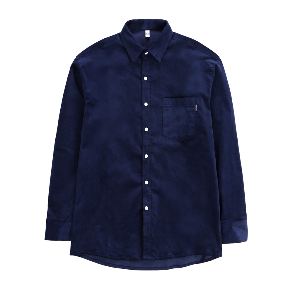GF Hard Corduroy Shirt Navy