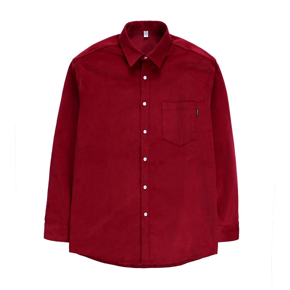 GF Hard Corduroy Shirt Wine