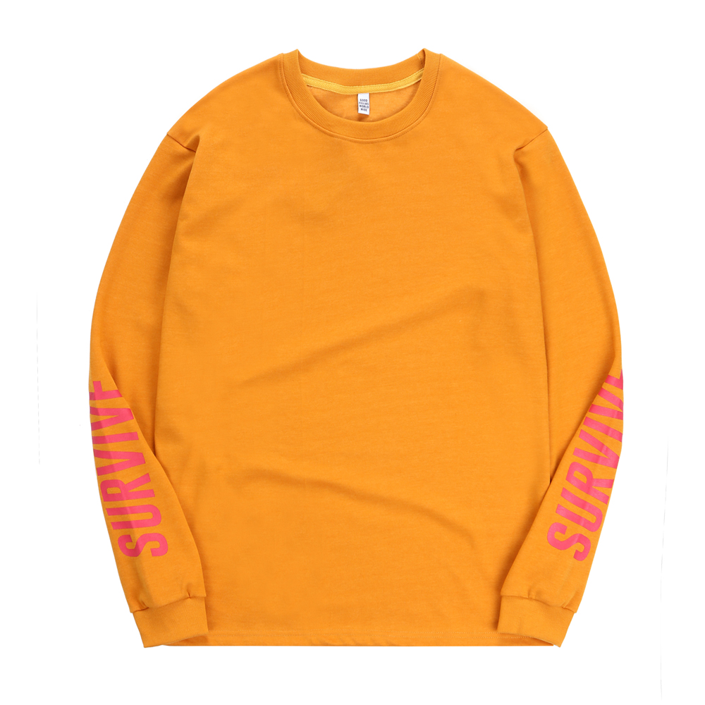 Survive L/S T-shirt Yellow