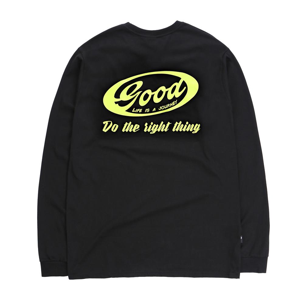 Life L/S T-shirt Black