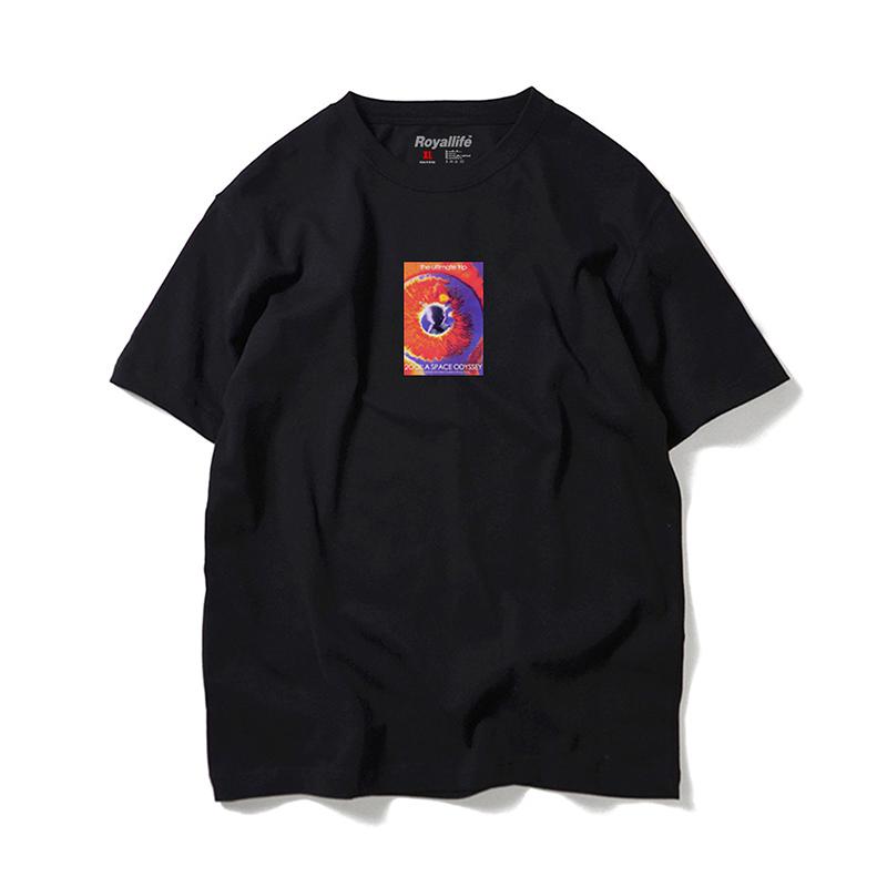 로얄라이프 RL113 얼티메이트 트립 반팔 - 블랙