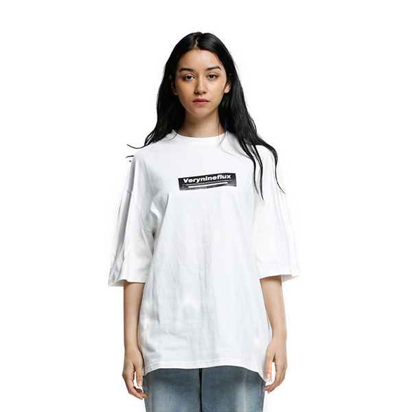 CAUTION T-SHIRT WHITE