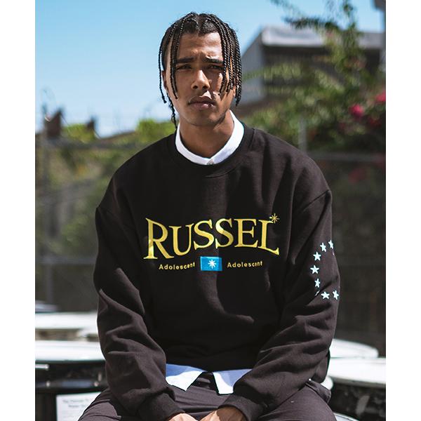 [디파스칼] RUSSEL SWEAT SHIRT BLACK