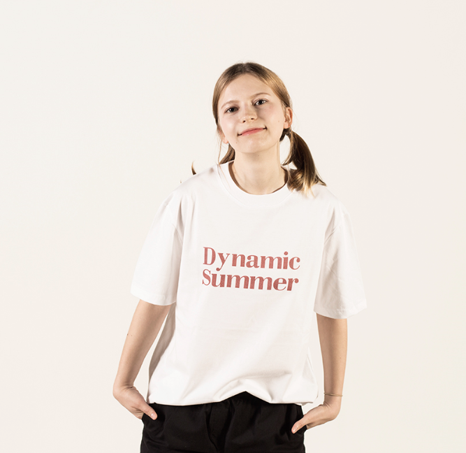 [Lebenea] 2017 S/S Dynamic Summer - White