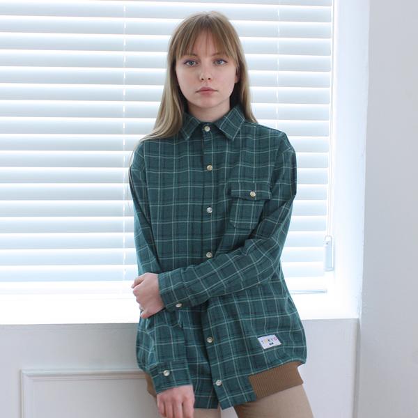 [TOi] TOi TOKYO 자켓 셔츠 그린