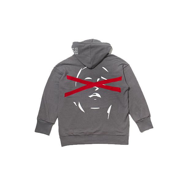 1F HOOD gray
