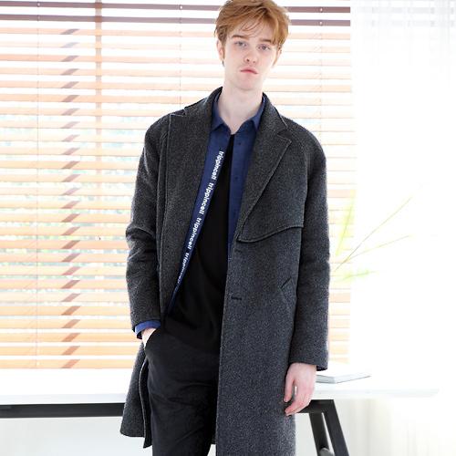 Flare Coat (gray) 울롱코트