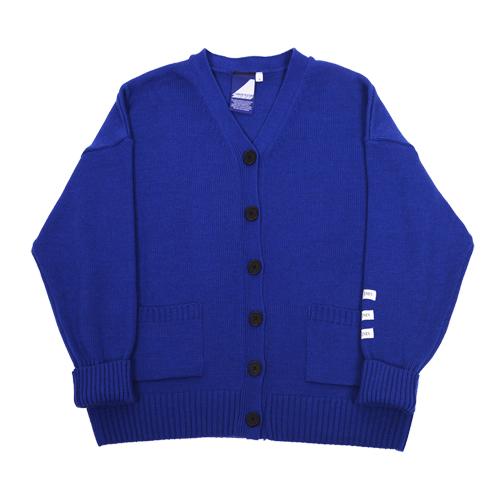 Label cardigan - blue
