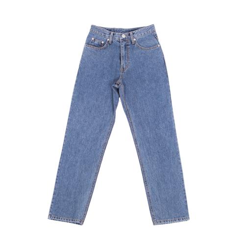 regular fit denim jeans-Lightblue