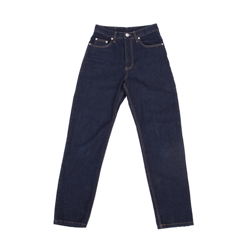 regular fit denim jeans-deepblue