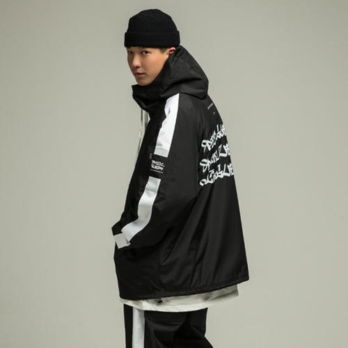TRIPLE LOGO Anorak Jacket BW