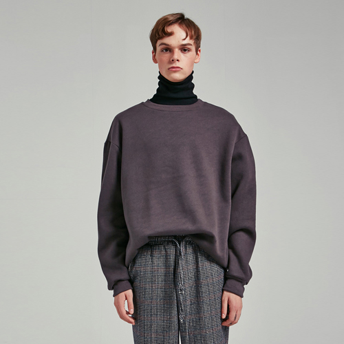 OVERSIZED ROUND MTM_CHARCOAL