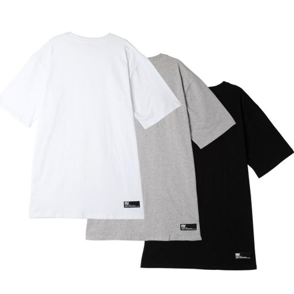 [1+1] [UNISEX ]스탠다드 레이어드 롱 티셔츠(3Color)