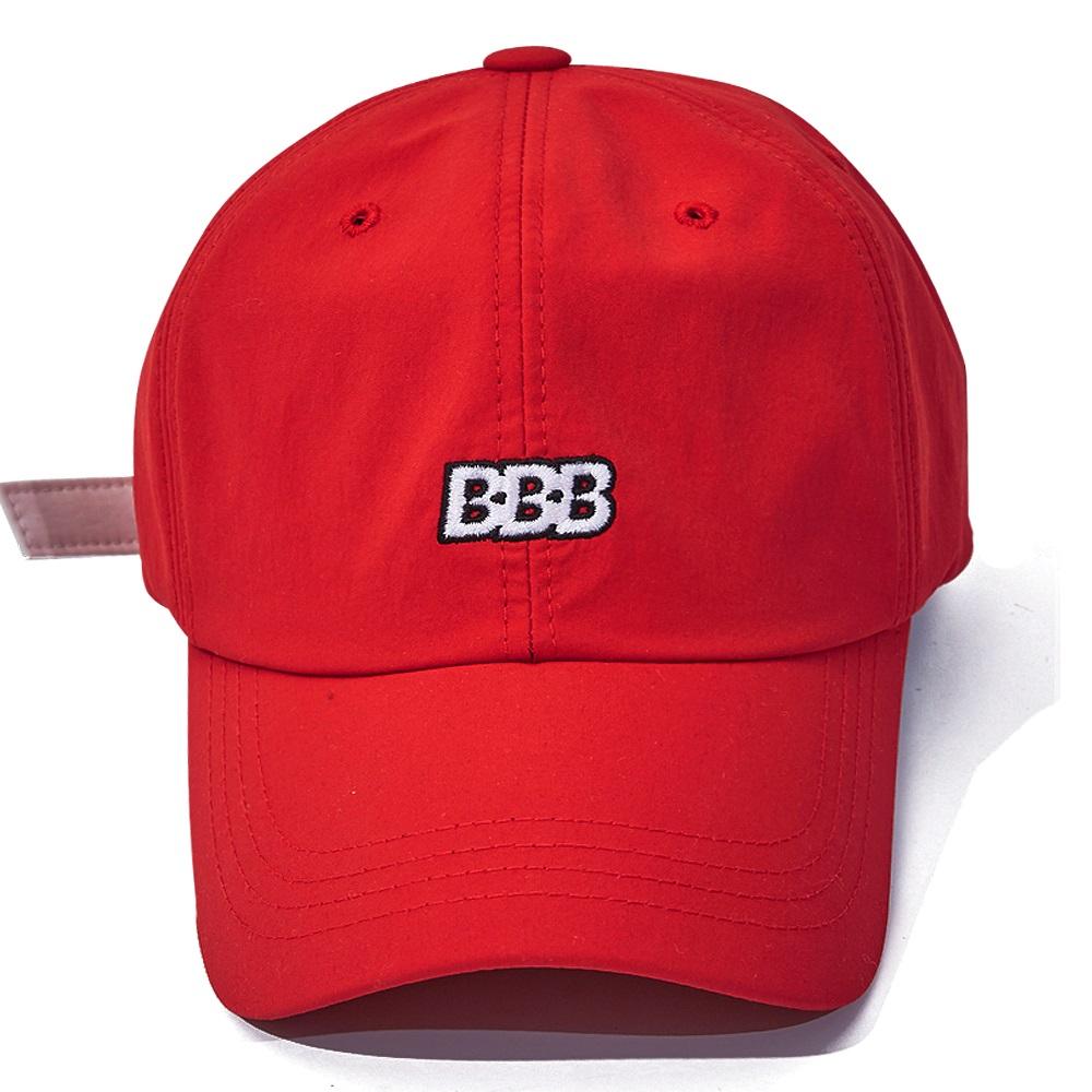 [비에스래빗] BBB NYLON STRAPBACK_RED
