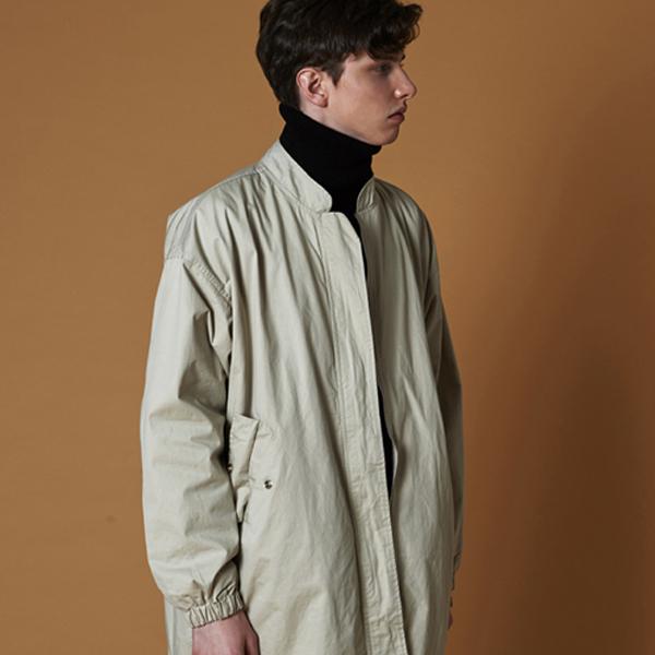 washing field jacket_ivory