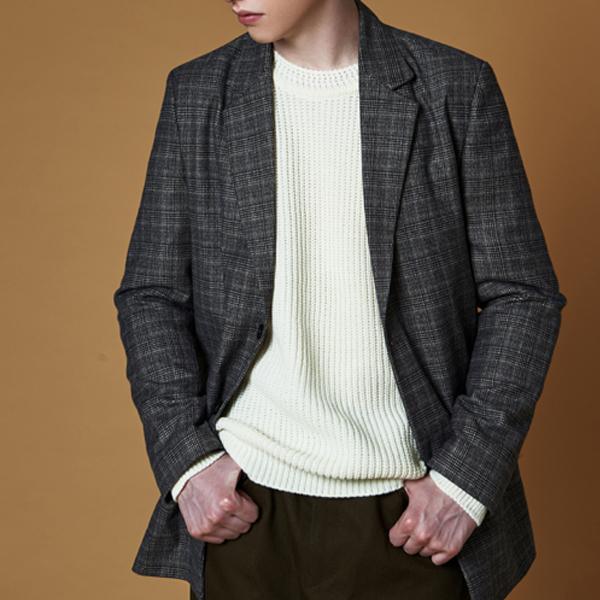 glen blazer jacket_beige
