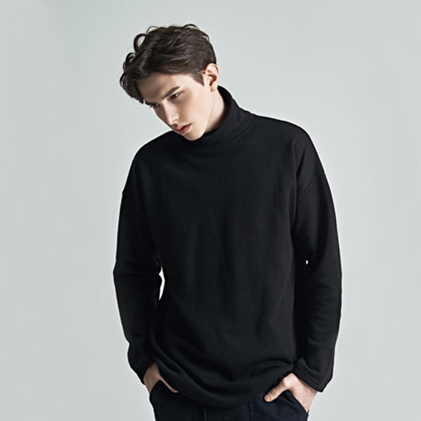 basic napping turtleneck - 3color