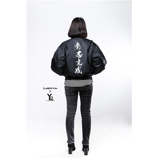 YOLO x Just-T collaboration MA-1