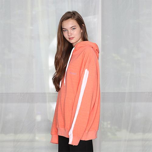 [unisex] paint hood (orange)