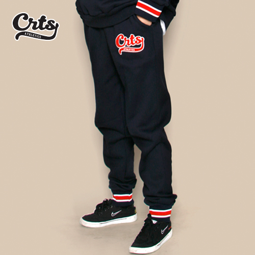 [코로츠] CRTS Stripe Banding Sweatpants (Navy)
